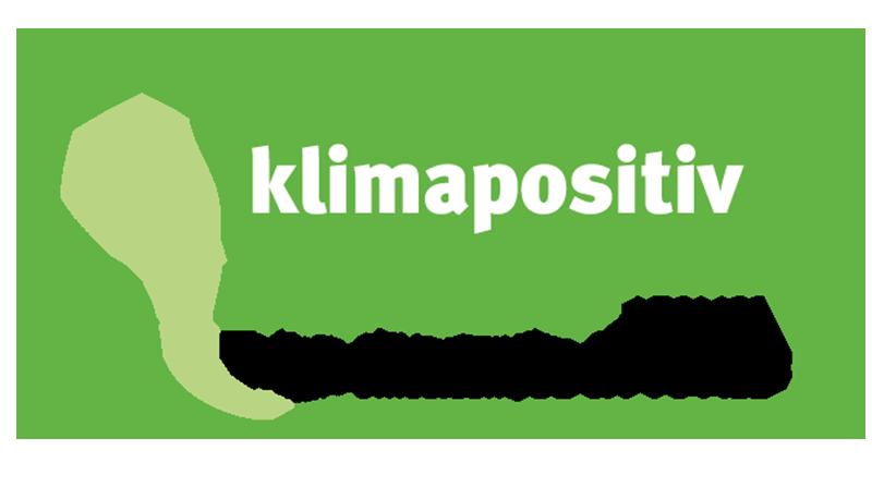 klimapositiv Verpackung von linio verda
